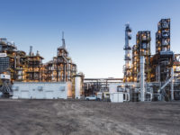 Enerkem's full-scale waste-to-biofuels facility in Edmonton, Alberta (photo: Curtis Trent).